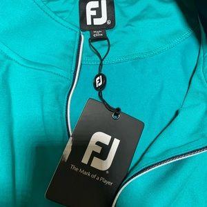 FootJoy Jackets & Coats - FootJoy pullover golf athletic zip-up emerald